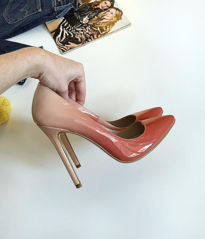 Обалденные туфли лодочки омбре constantino