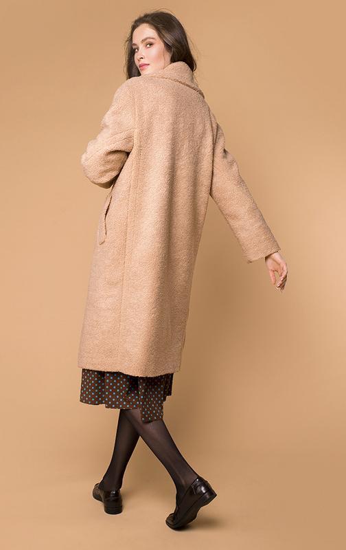 Пальто теплое классика с воротником mr520 деми