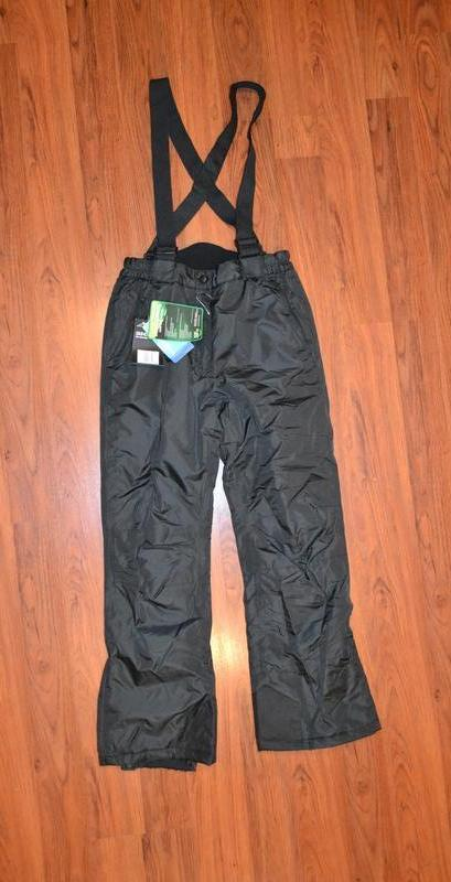 Зимние лыжные штаны, полукомбинезон рост 152 см