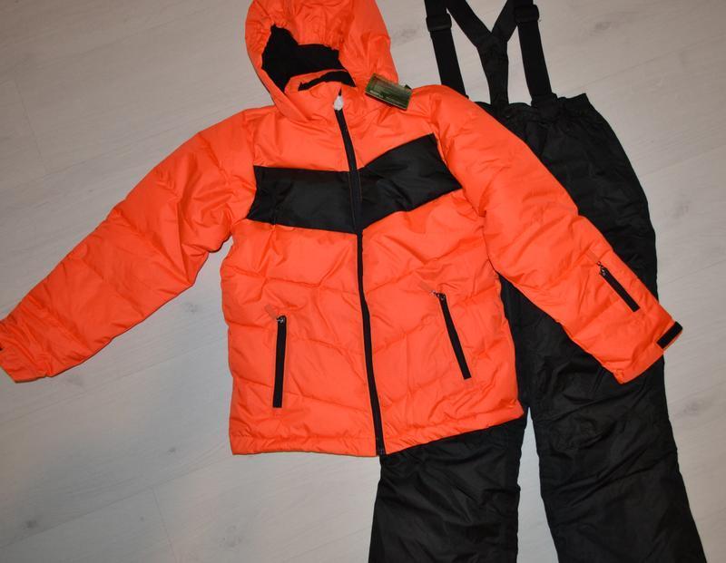 Зимний лыжный костюм, куртка, штаны рост 152 см
