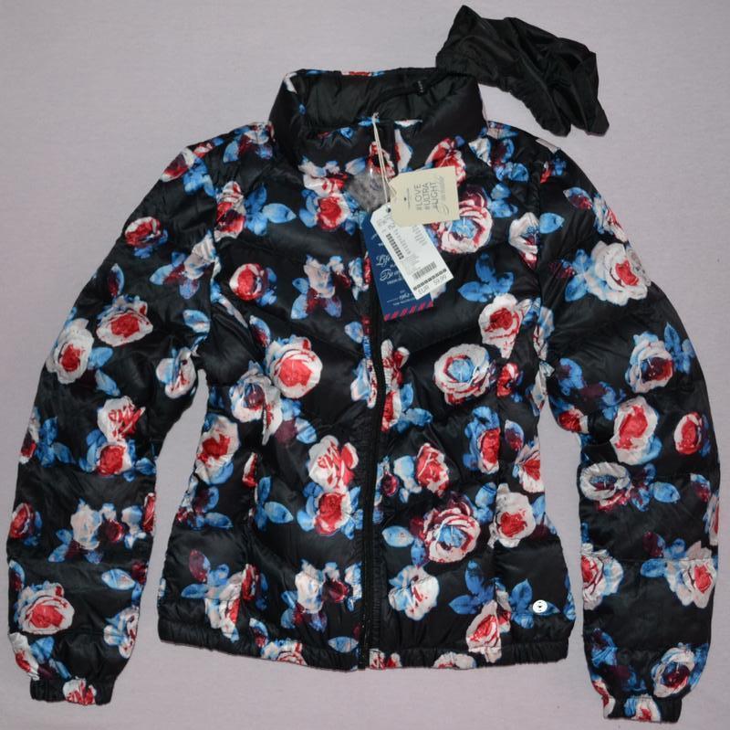 Рост 152 см. куртка, пуховик tom tailor германия.