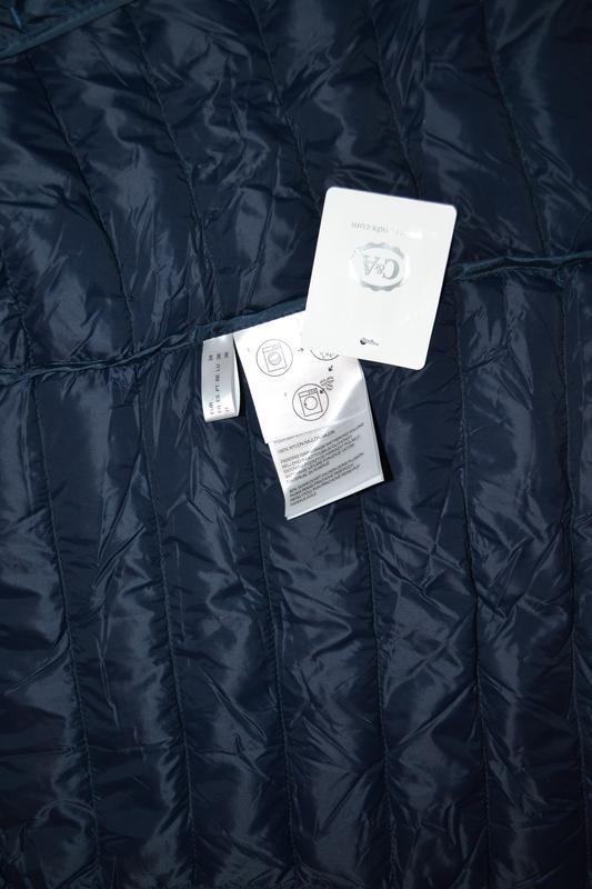 Куртка, легкий пуховик c&a германия р. xs-s - Фото 5