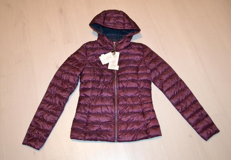 Легкий, мягких пуховик, куртка, пуховая куртка на xs