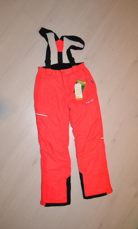 Зимние лыжные штаны, полукомбинезон c&a рост 158 - 164 см