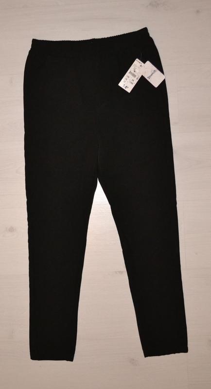 Школьные штаны черного цвета для подростков