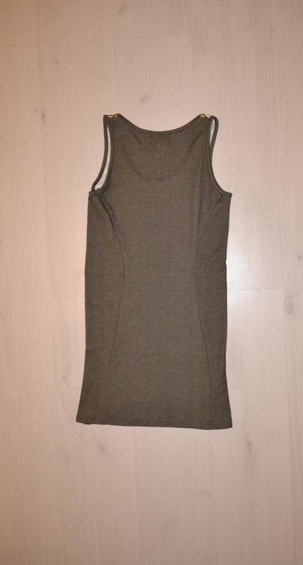 Трикотажное платье, сарафан размер s - Фото 2