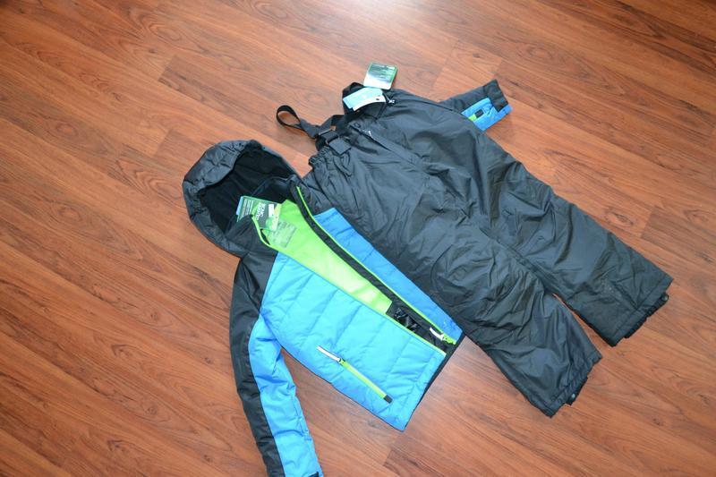 Лыжный костюм раздельный  куртка и штаны рост 140 см.