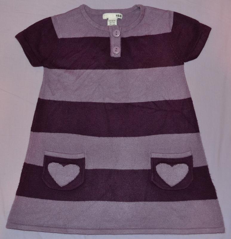 Платье h&m рост 86-92 см