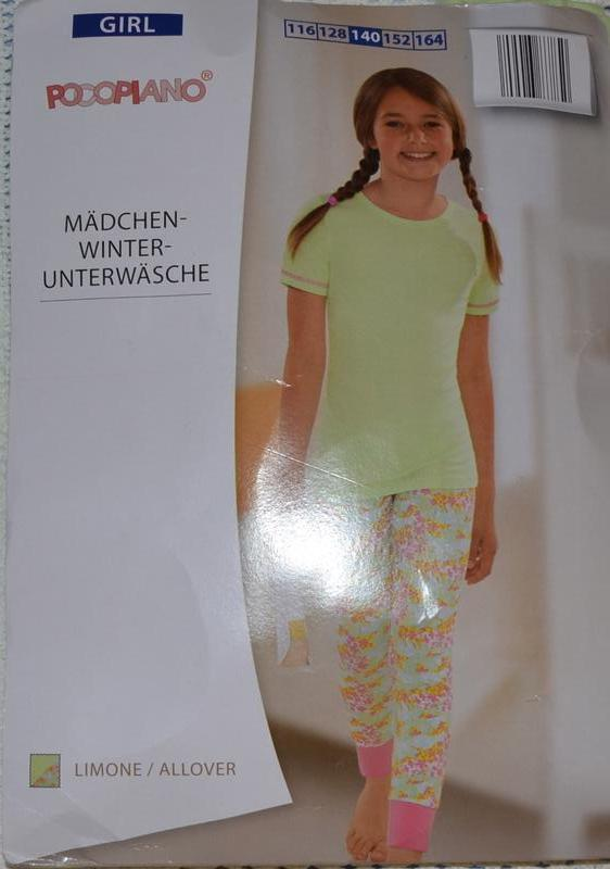 Пижама   pocopiano германия рост 140 см