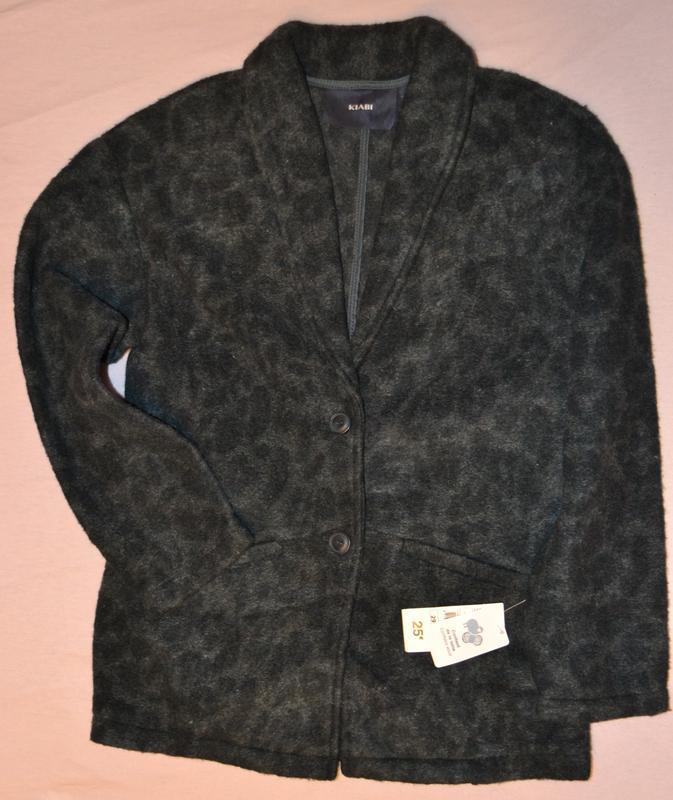 Теплый школьный пиджак рост 146-152 см