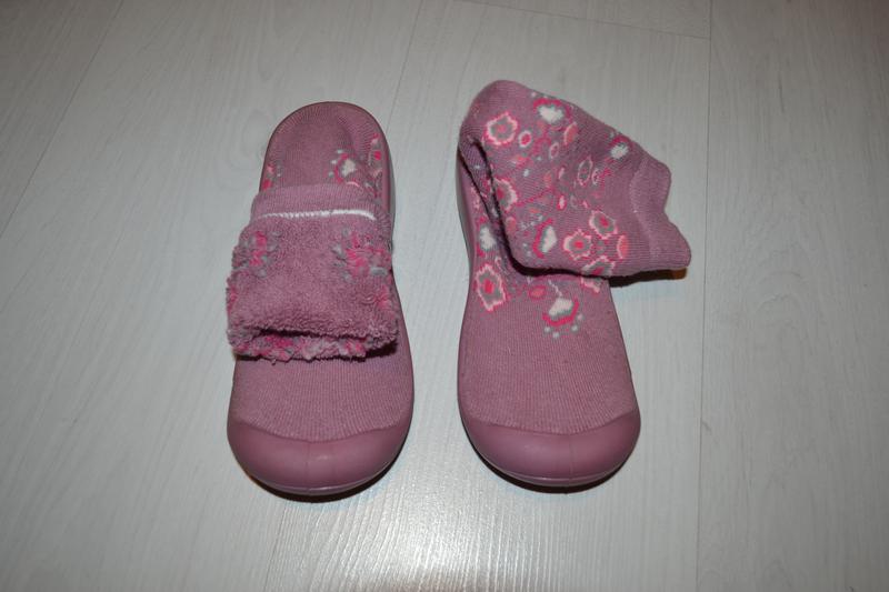 Тапки, тапочки-носки на размер 34