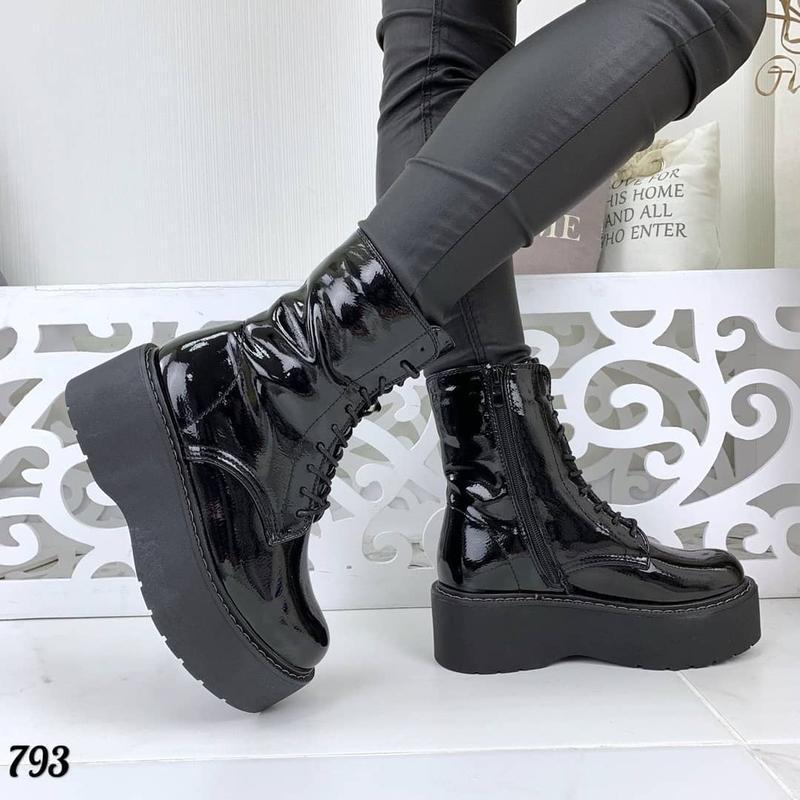 Стильные ботиночки на платформе