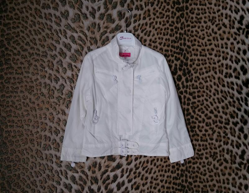 Ветровка/курточка sarah chole (италия) на 4-5 лет (размер 104-...
