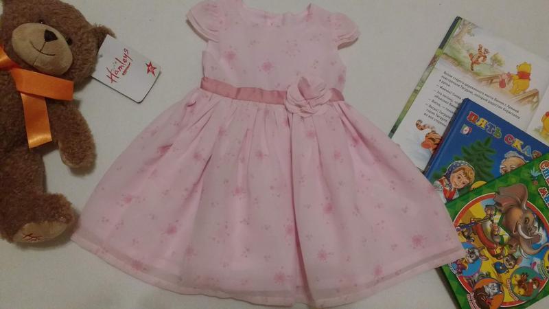 """Нежное нарядное платье для новорожденной """"george"""", 0-3 месяца,..."""