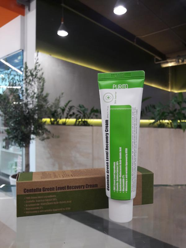 Відновлюючий крем purito centella green level recovery cream 50мл