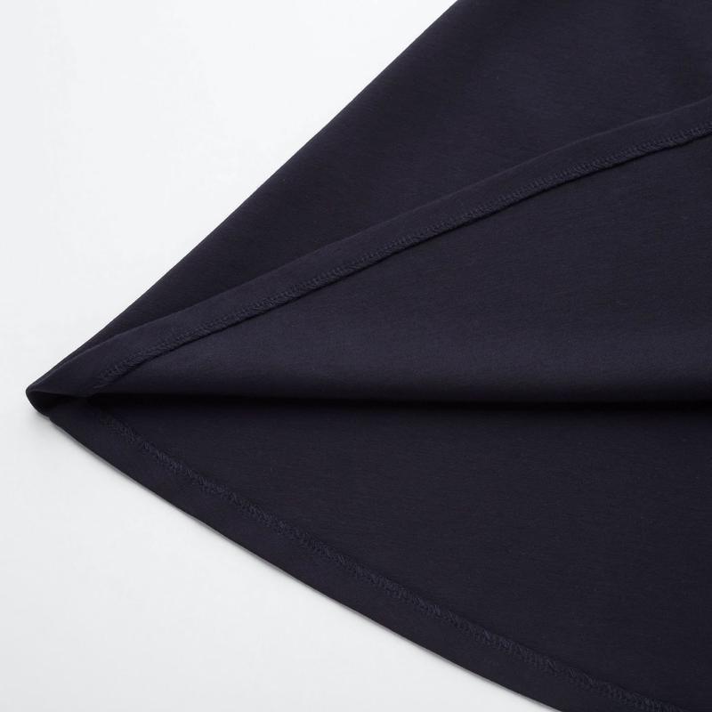 Платье темное индиго ponte от uniqlo m, l - Фото 3