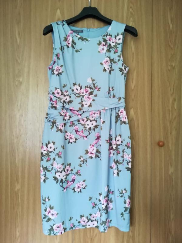 Платье летнее цветочный принт laura ashley