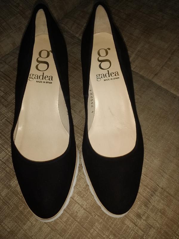 Замшевие туфли