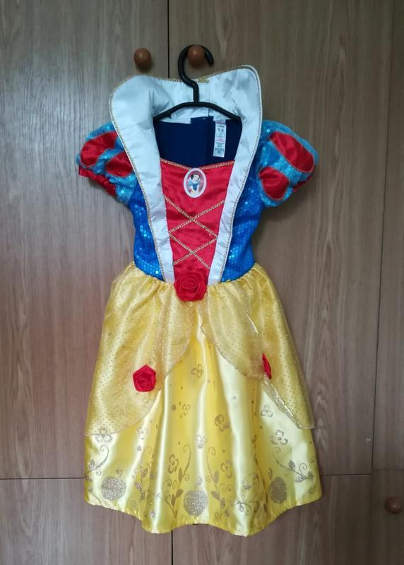 Платье белоснежки карнавальное платье на утреник