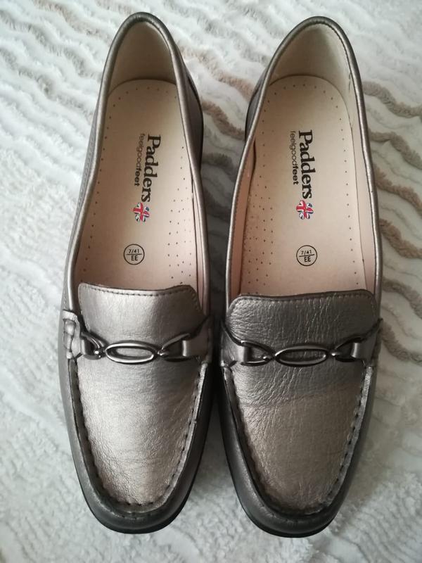 Лоферы мокасины туфли padders