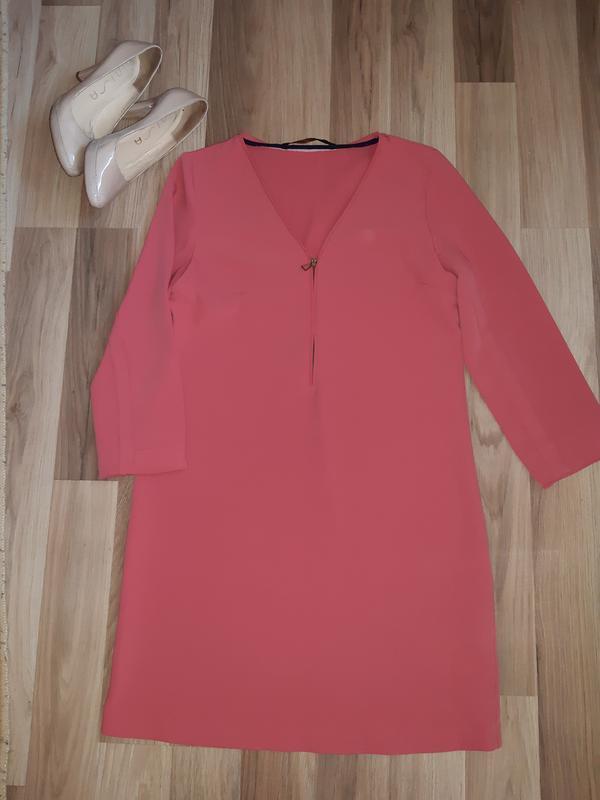 Платье плотный полиестр от zara