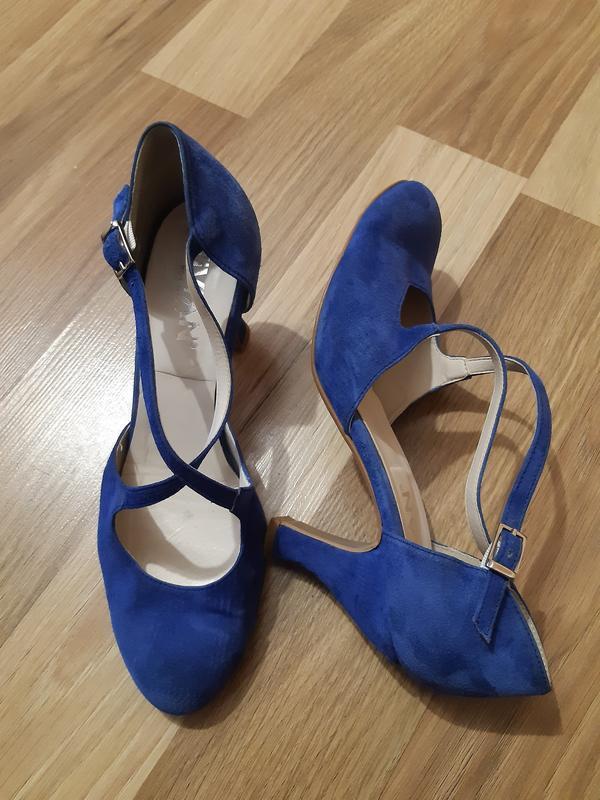 Замшевые туфли vivian