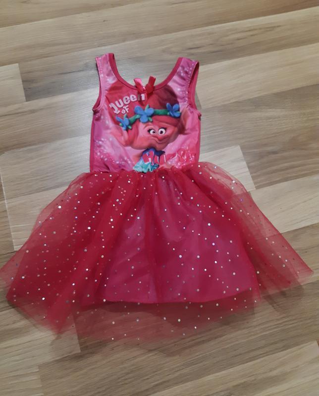 Платье принцессы троллей хупс