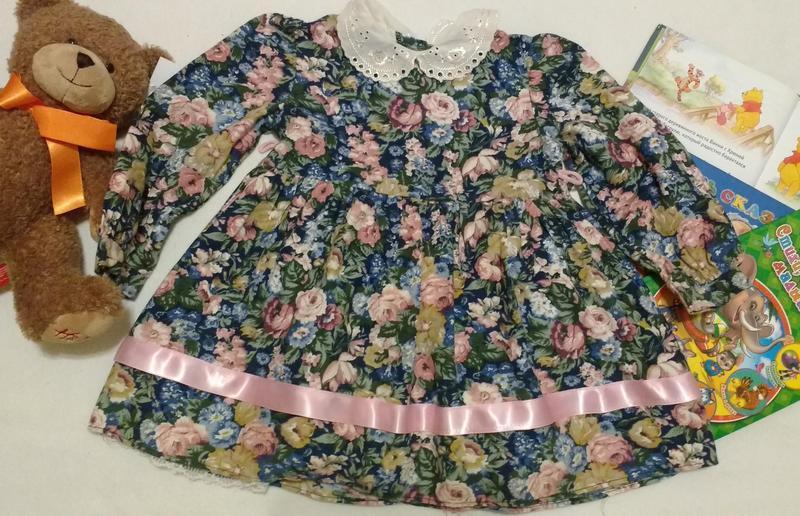 """Платье в винтажном стиле с воротником """"ladybird"""", 18-24 месяца..."""
