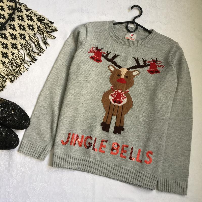 Теплый свитер george 14-16--50-52 размер.