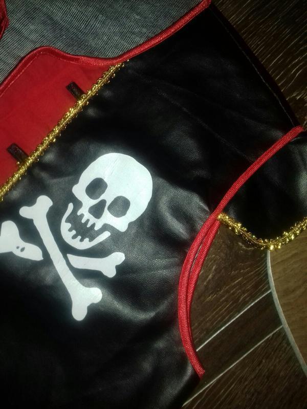 Костюм жилет пирата  новогодний карнавальный