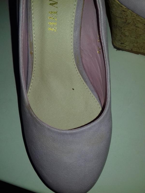 Уценка. новые туфли на танкетке 36 - Фото 9