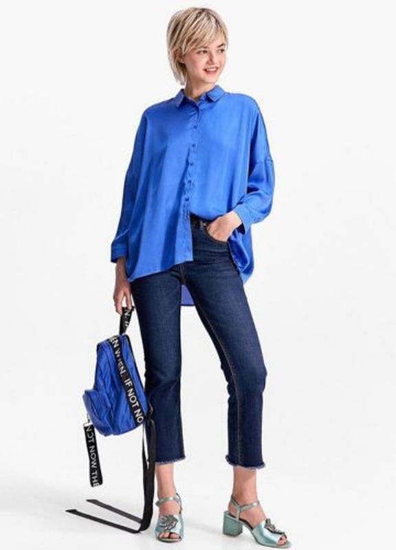 Блуза рубашка блузка оверсайз