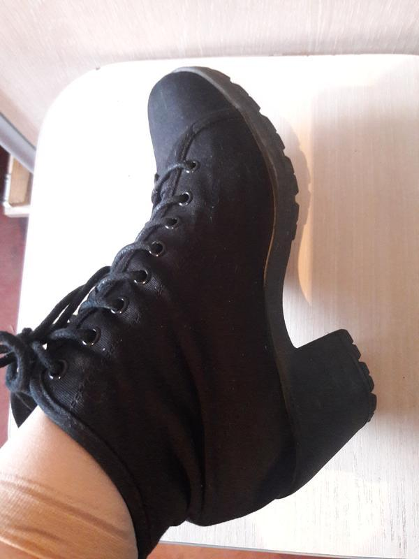 Тканевые ботинки. - Фото 2