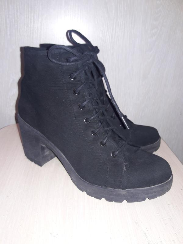 Тканевые ботинки. - Фото 5