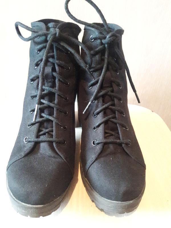 Тканевые ботинки. - Фото 6