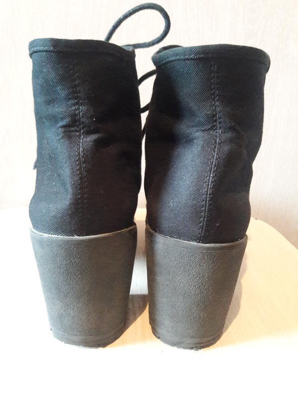 Тканевые ботинки. - Фото 7