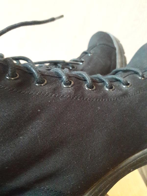 Тканевые ботинки. - Фото 8