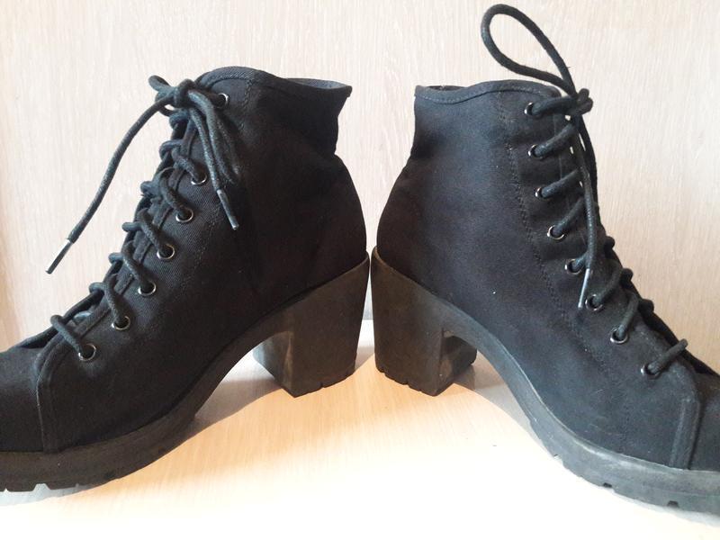 Тканевые ботинки. - Фото 9