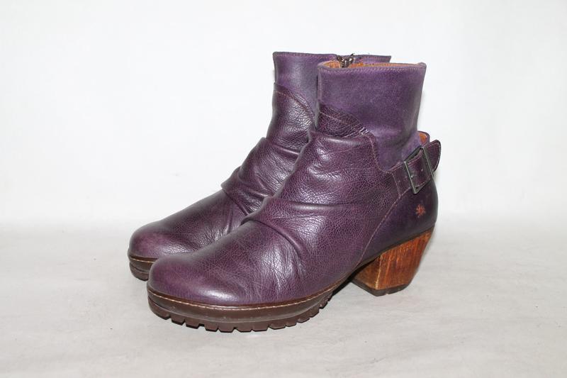 The art кожаные ботинки 38 размер 100% натуральная кожа