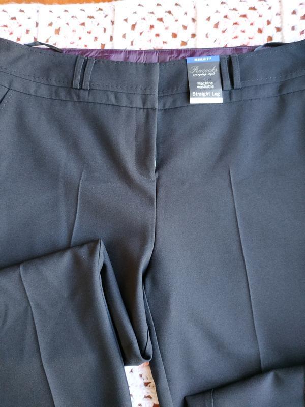 Новые фирменные классические брюки peacocks - Фото 6