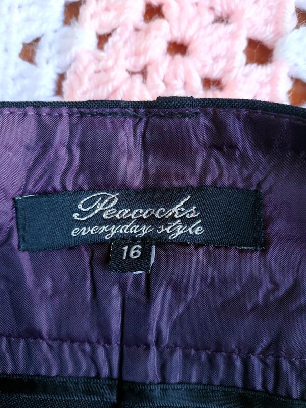 Новые фирменные классические брюки peacocks - Фото 7