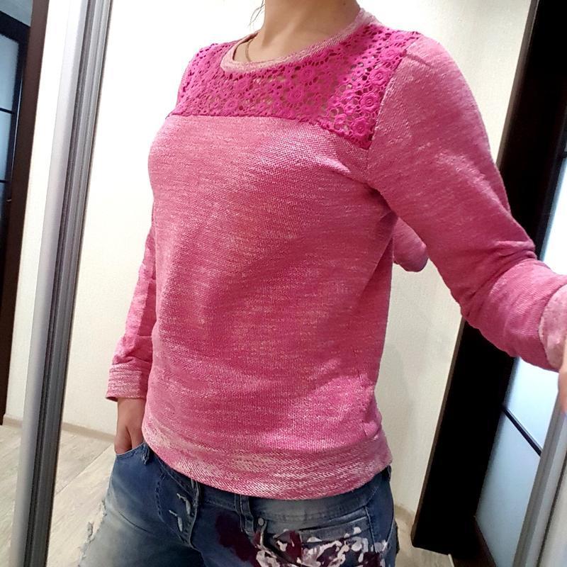 Свитер свитшот m&co розовый нежный модный 146 152 см 11 12 лет...
