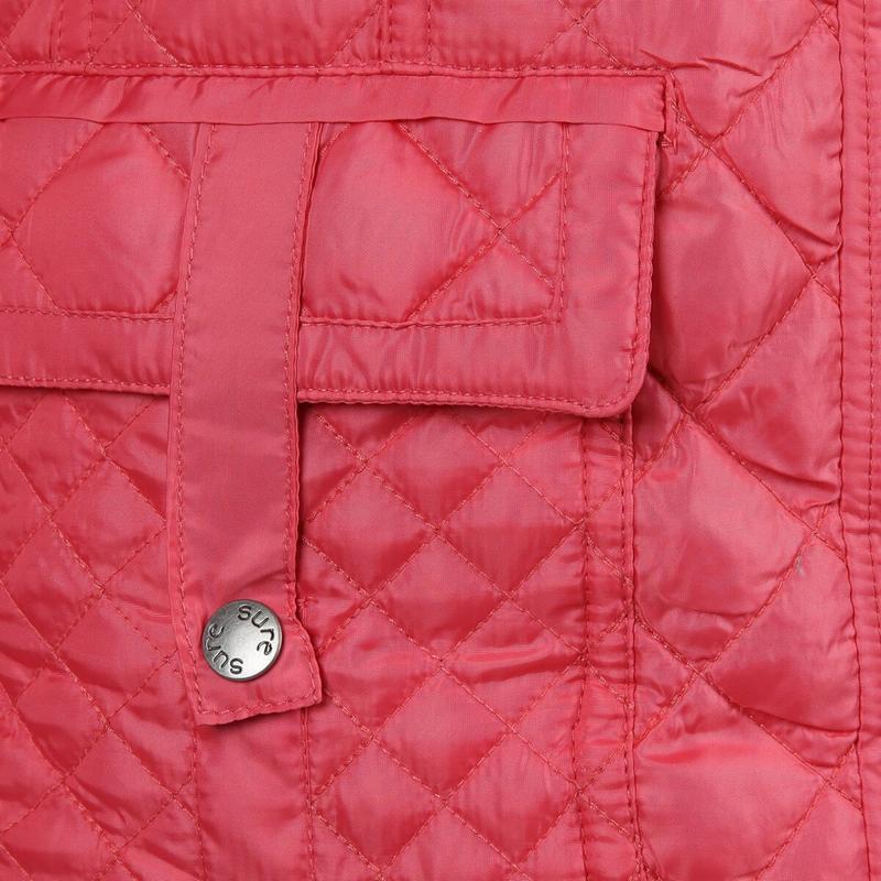 Модная куртка большого размера из легкого стеганого материала ... - Фото 3