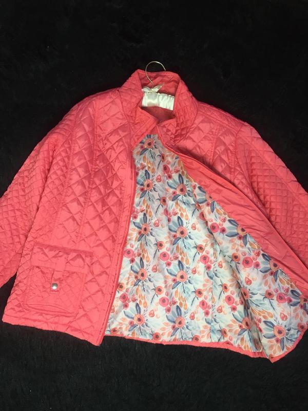 Модная куртка большого размера из легкого стеганого материала ... - Фото 7