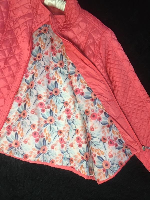 Модная куртка большого размера из легкого стеганого материала ... - Фото 8