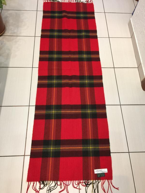 Шотландия большой шарф кашемир шерсть 47*150