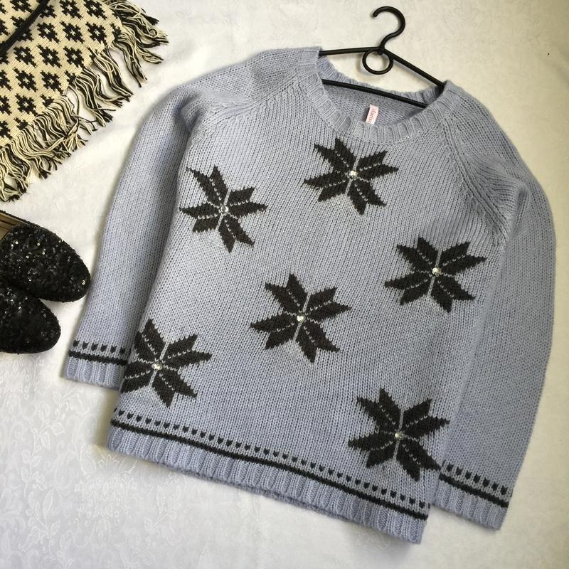 Теплый свитер marisota 20-22--56-58 размер.