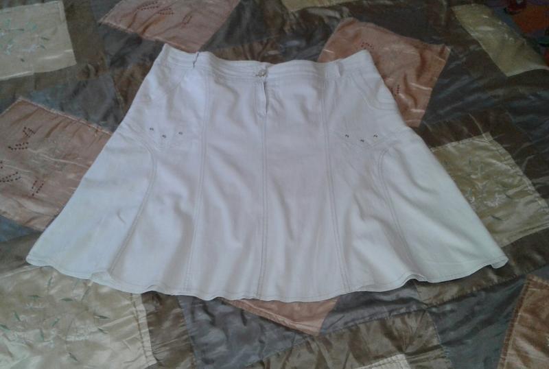 Котоновая юбка большого размера