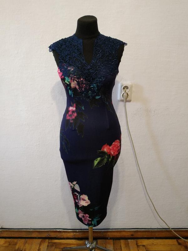 Стильное элегантное женственное платье