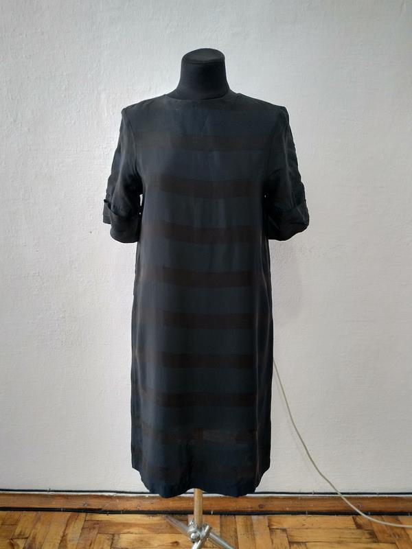 Стильное элегантное черное платье